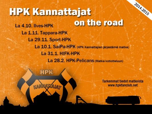 HPK Kannattajat on the road (2014-2015)