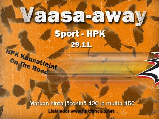 Vaasa-away